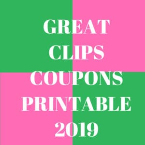 Great Clips Coupons Printable