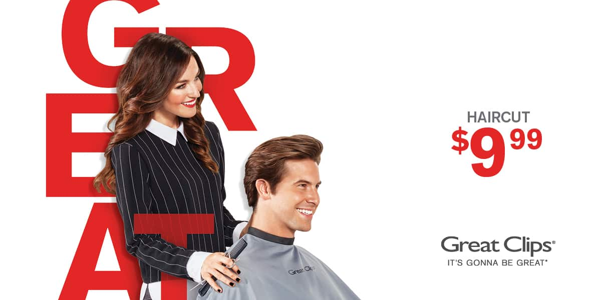 $9.99 Great Clips Coupon